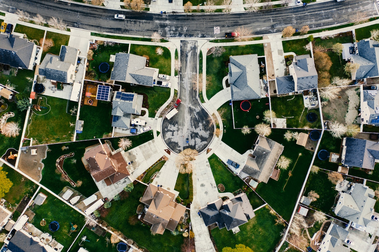 aerial-view-of-homes